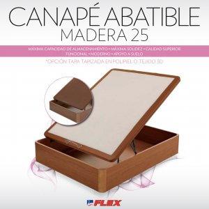 Canapé Abatible Madera 25 – Tapa Polipiel