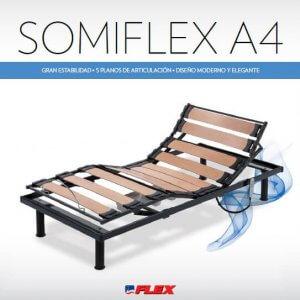 Cama Articulada Eléctrica Somiflex A4