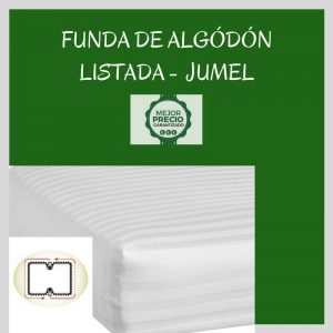 FUNDA DE ALGÓDÓN LISTADA JUMEL