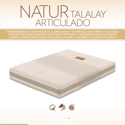 Colchón Natur Talalay Todocolchón