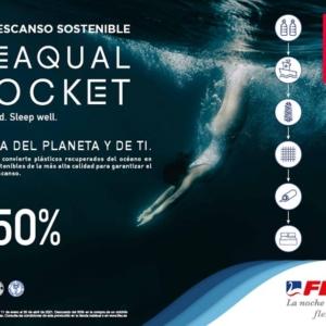 COLCHÓN SEAQUAL POCKET FLEX EDICIÓN SOSTENIBLE