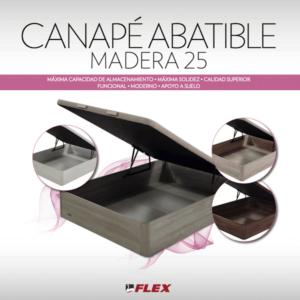 Canapé Abatible Madera25